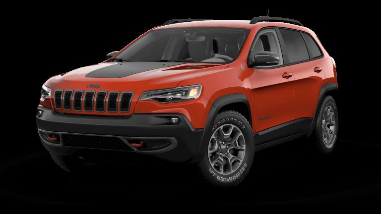 2021 Jeep Cherokee Trailhawk® - Spitfire Orange