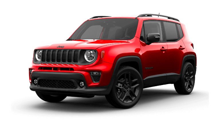 2021 Jeep Renegade 80th Anniversary Colorado Red