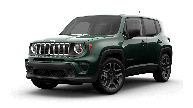 2021 Jeep Renegade Jeepster Techno Green