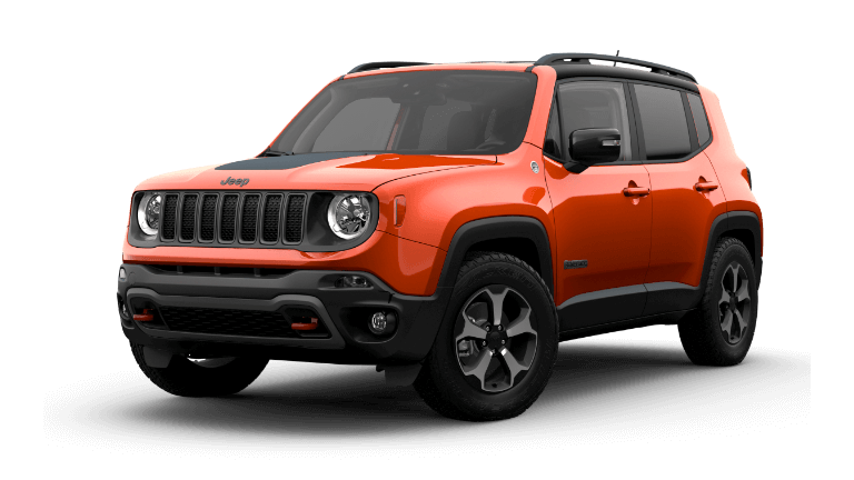2021 Jeep Renegade Trailhawk Omaha Orange