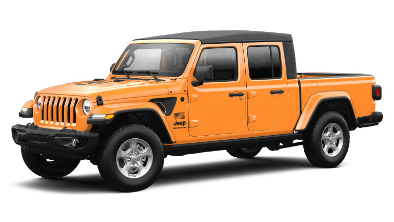 2021 Jeep Gladiator Freedom in Nacho Clear