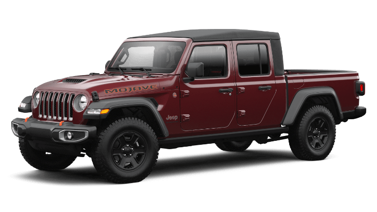 2021 Jeep Gladiator Mojave in Snazzberry Pearl