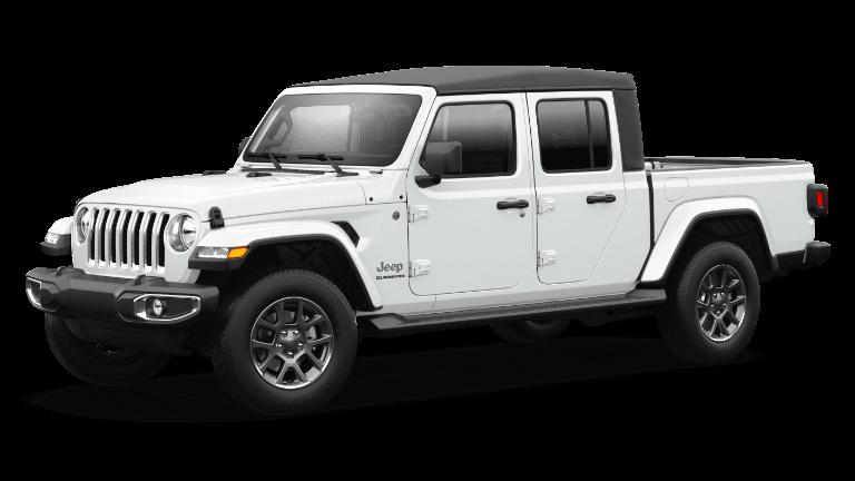 2021 Jeep Gladiator Overland in Bright White