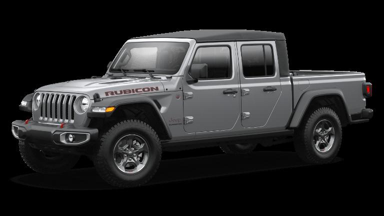 2021 Jeep Gladiator Rubicon in Billet Silver