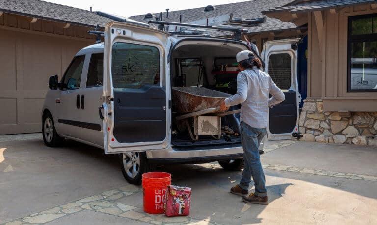 2021 Ram ProMaster City exterior loading eqiupment