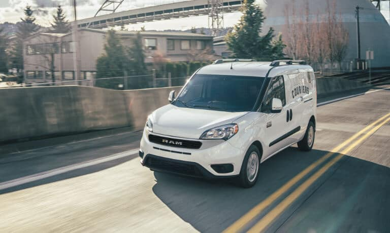 2021 Ram ProMaster exterior driving on highway