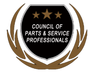Council of Parts Service Award