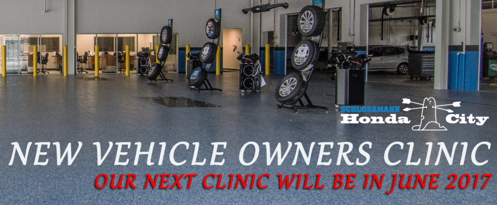 Service New Vehicle Owners Clinic