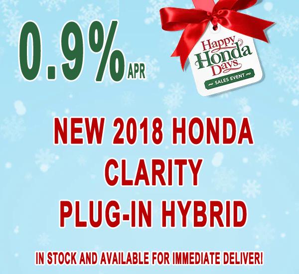 Honda Clarity Lease Special