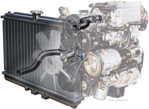 Honda cooling system