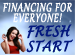 Home of the Fresh Start Finance Program