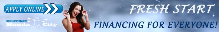 Honda City Fresh Start Financing Program