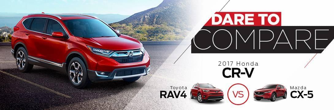 2017 Honda CR V Dare To Compare ...