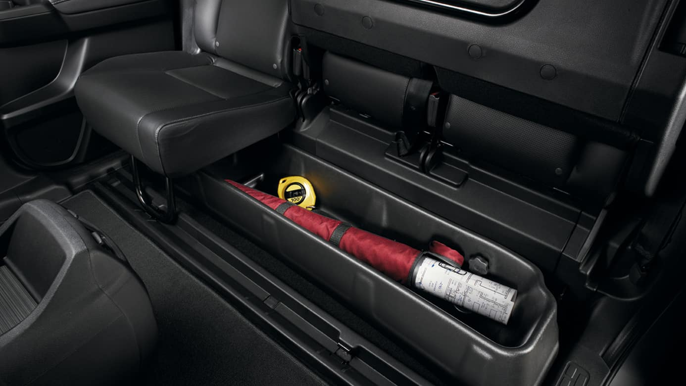 2018 honda ridgeline rear seat storage