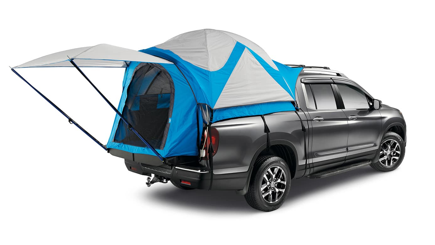 2018 honda ridgeline truck bed tent