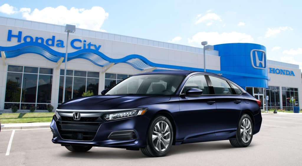 New 2020 Honda Accord Sedan LX 1.5T Front Wheel Drive Four-Door Sedan