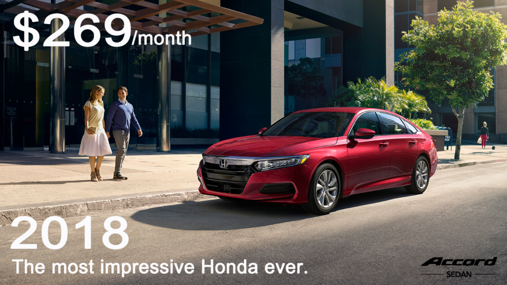 2018 Honda Accord Lease Special