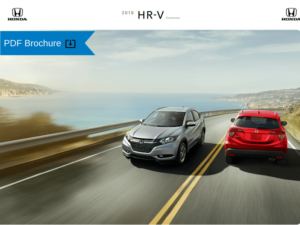 2018 Honda HR-V Brocure