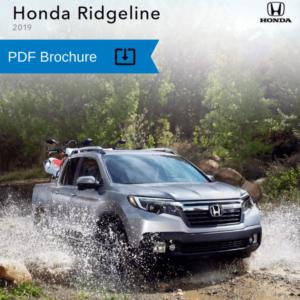 2019 Honda Ridgeline Brocure