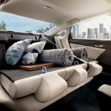 2019 Honda Insight rear seat down