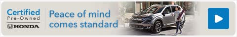 Honda Certified Pre-Owned Used Cars