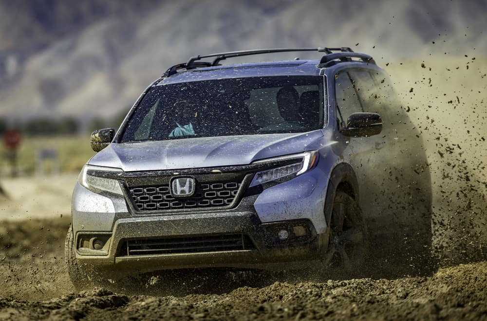 2019 Honda Passport All New 5 Passenger Suv On Road And Off Road