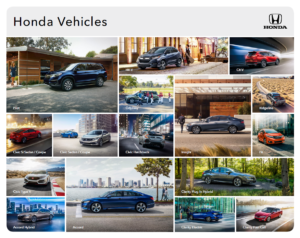 2019 Honda Vehicle Brochure