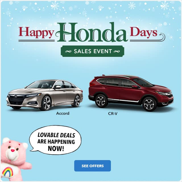 Honda City Happy Honda Days Sales Event