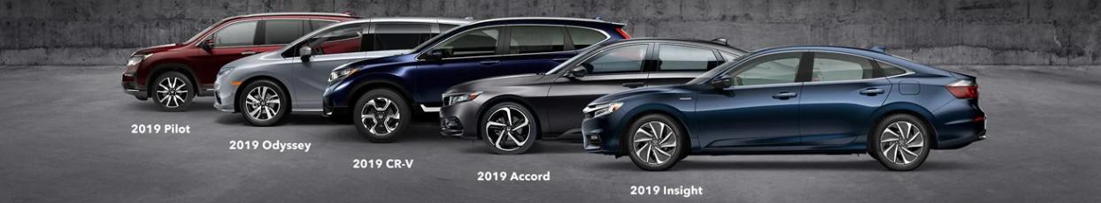 2019 Honda Lineup