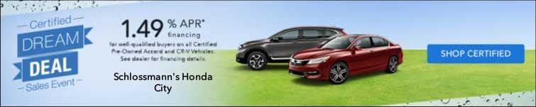 Honda City Certified Dream Deal Sales Event