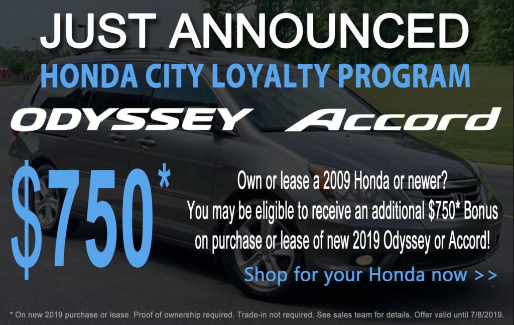 Honda City Loyalty Program