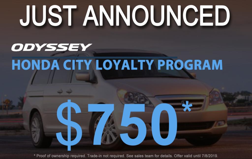 Odyssey Loyalty Program
