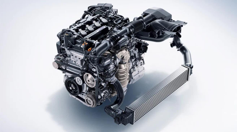 2020 Honda Accord Engine cutaway