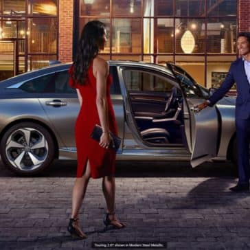 2020 Honda Accord Exterior Girl walk up