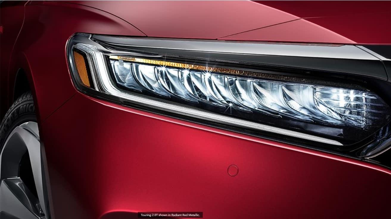 2020 Honda Accord Exterior headlamp closeup