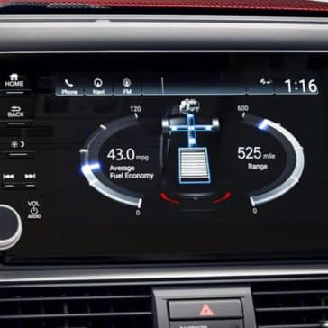 2020 Honda Accord Interior Display