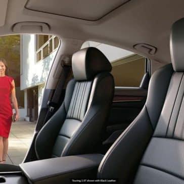 2020 Honda Accord Interior Girl walk up