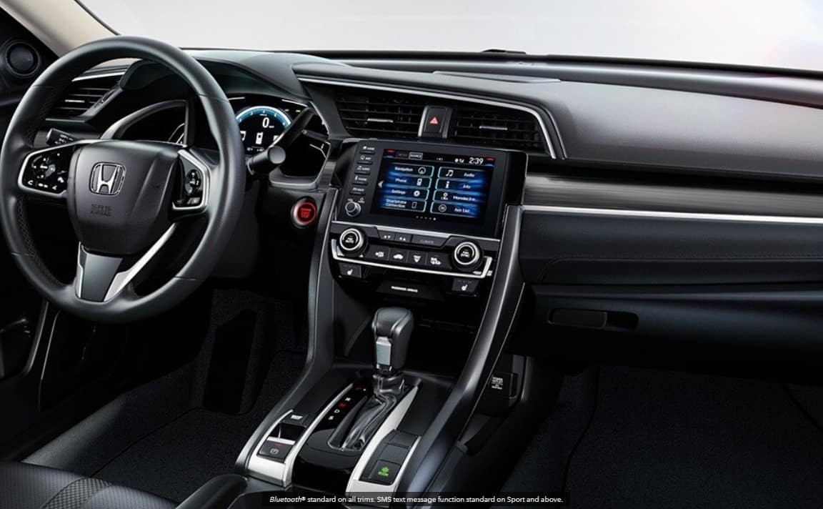2020 Honda Civic Interior cockpit
