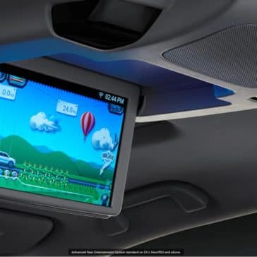 2020 Honda Pilot Interior entertainment screen