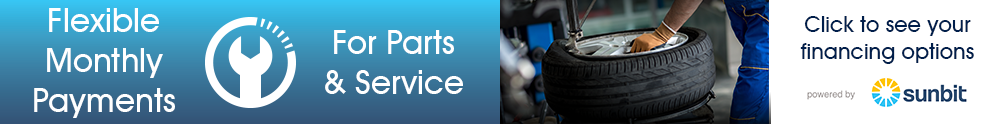 Service and Parts Financing Options