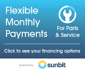 Affordable Financing for Parts and Service