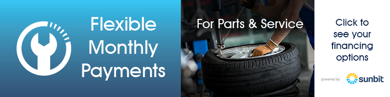 Flexible Monthly Payments Financing on Tires