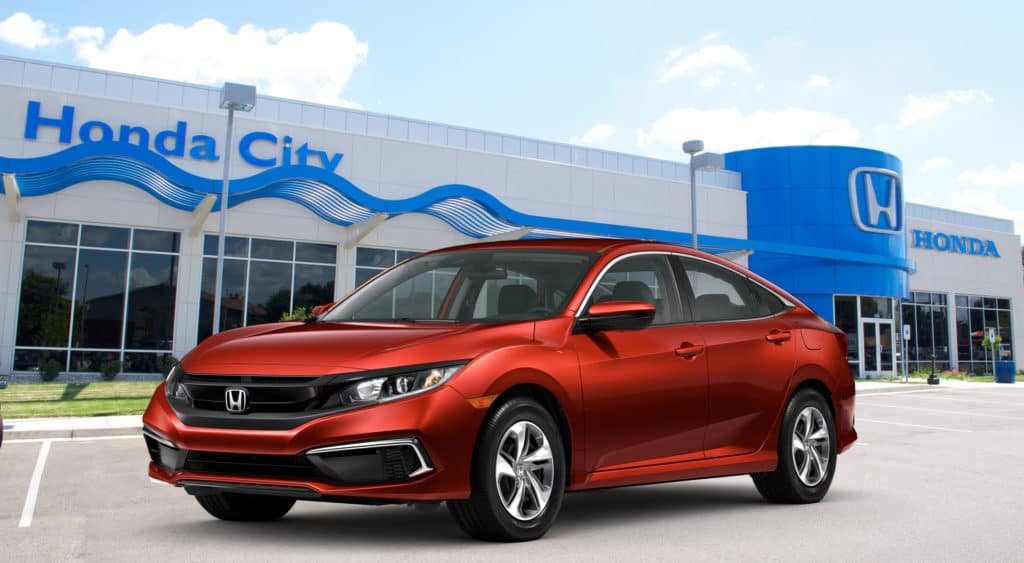 New 2020 Honda Civic Sedan LX Front Wheel Drive Four-Door Sedan