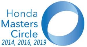 Honda Masters Circle Award 2019
