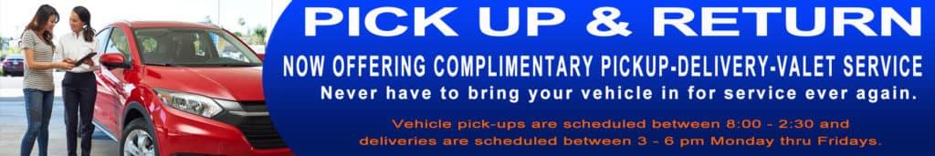 Honda City Service Pick Up