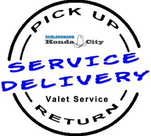 Service pick up delivery drop off valet