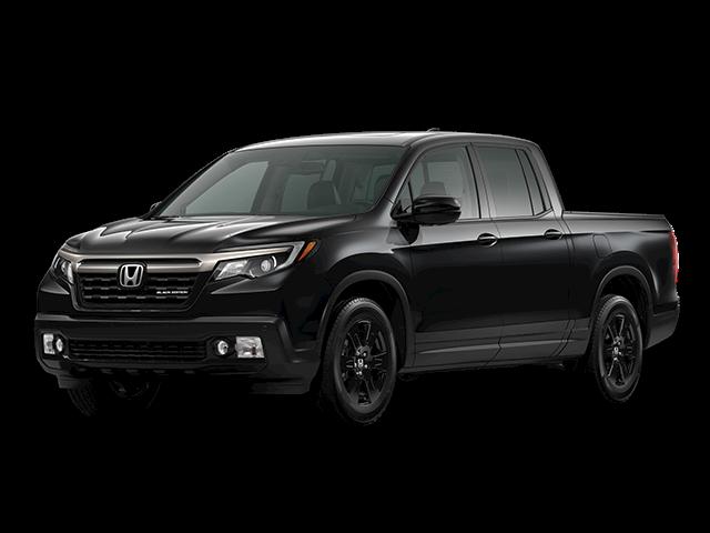 2020 Honda Ridgeline pickup truck black