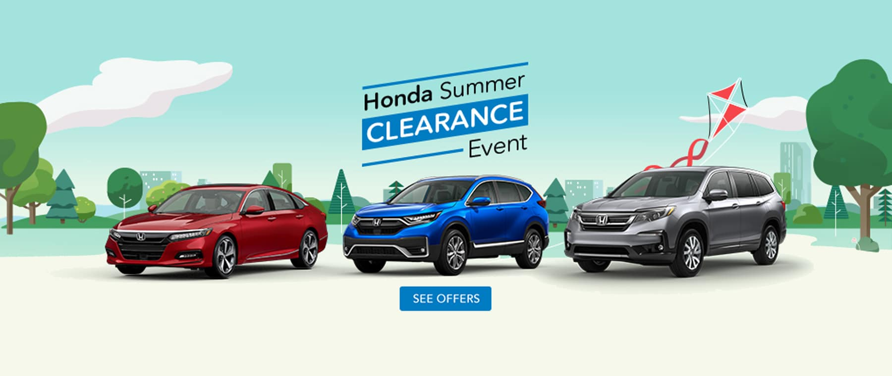 Honda City Summer Clearance Sales Event