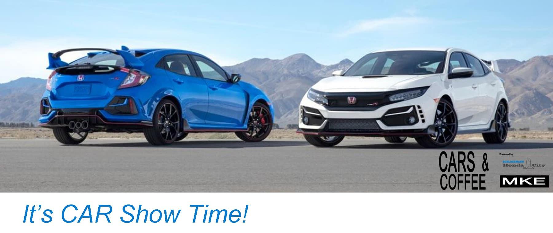 Honda City Cars and Coffee MKE Car Show