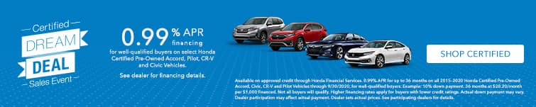 View our Certified Inventory